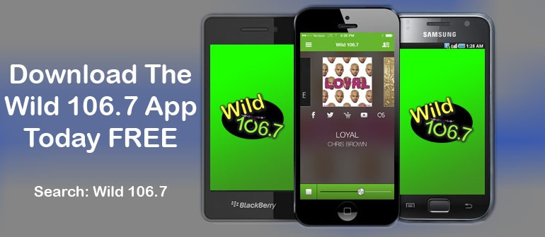 Download The Wild 106.7 App